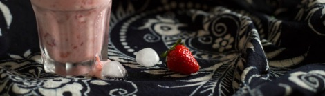 Burmese strawberry juice