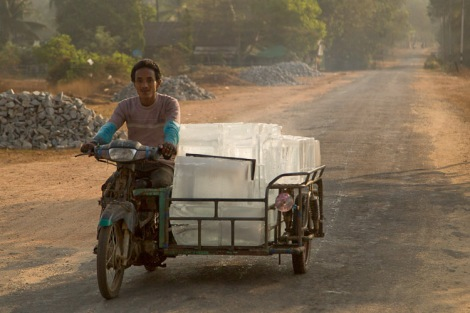 Ice delivery, Dawei