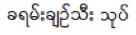 BTS Burmese