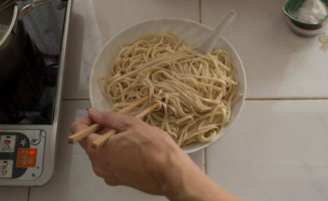 Noodle oiling