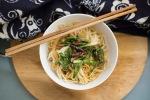 Mushroom noodles