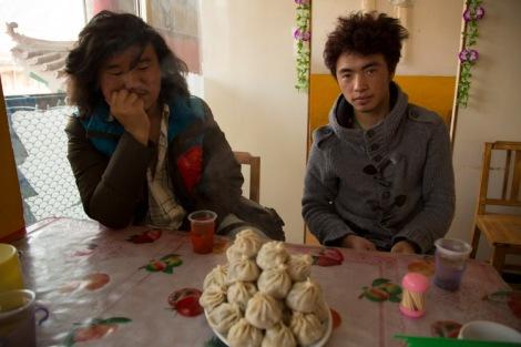 Momos in Xiahe